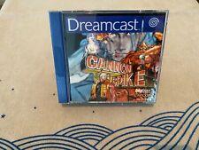 Cannon Spike (Sega Dreamcast, 2002) PAL CIB/OVP