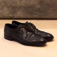 Pollini designer leather laced shoes, size 40, UK 7