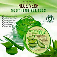 100% GENUINE OF ALOVERA GEL 100% NATURAL REDUCE SCAR & INFUSING MOISTURE SKIN.