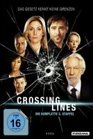 CROSSING LINES/3.STAFFEL - SUTHERLAND,DONALD/WLASCHIHA,TOM  4 DVD NEU