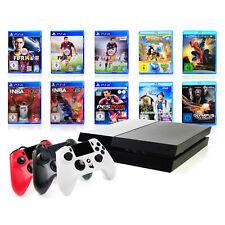 (R) Sony PS4 Konsole - 500GB SCHWARZ Bundle +Gator Claw Controller Playstation 4