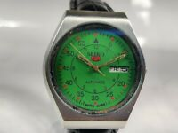 Vintage Seiko 5 Automatic Movement Day Date Dial Mens Analog Wrist Watch AC41