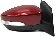 2012-2014 Ford Focus Passenger Right Side Power Door Mirror Ruby Red