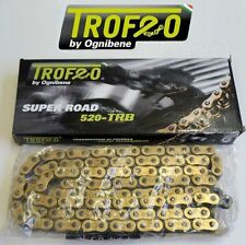 TROPHY GOLD CHAIN RB-RING 520 TRB 120 YAMAHA XTZ 750 SUPERTENERE 1989-1998