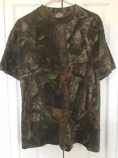 Vintage Walls Pocket t shirt Camo Camouflage Men's L Lg  Realtree Real Tree