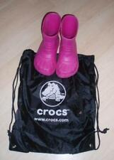 CROCS KIDS GEORGIE PINK SNOW RAIN BOOT ~ Kid's Sizes 12-13