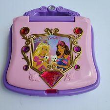 Barbie Princess Learning Diamond Laptop Purple and Pink