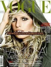 Spanish Vogue 1/11,Karolina Kurkova,Olivia Palermo,January 2011,NEW