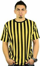 Mato & Hash Mens Crew Neck Ref Shirt Bar Referee Waitstaff T-Shirt