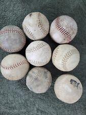 (Used) Mixed Lot of (8) Softballs