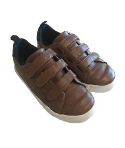 Old Navy Boys Brown Slip On Shoes Size 10 10C