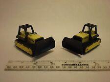 2 Vintage Hasbro Tonka Construction vehicles Yellow 1998! Lot of 2  COLLECTORS!