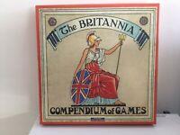 THE BRITANNIA COMPENDIUM  OF GAMES Retro Range