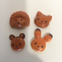 Calico Critters Sylvanian Families Brick Oven Bakery Replacement 4 Animal Breads