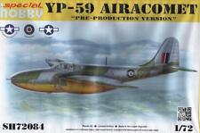 Bell YP-59 Airacomet (RAF, USAAF y U.S. Navy makgs) #84 1/72 Special Hobby