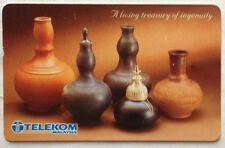 Malaysia Used Phone Card : Labu - A living Treasury of Ingenuity