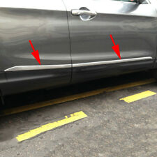 For Nissan Qashqai J11 Chrome Door Body Strips Accessories Molding Cover Trim
