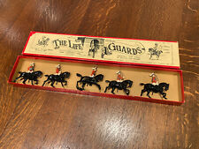 Britains Toy Lead Figures Military The Life Guards Set No.1 Vintage