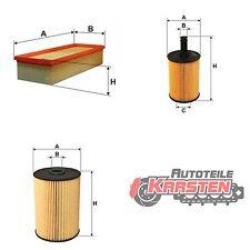 Set M: Ölfilter+Luftfilter+Kraftstofffilter Filterset AUDI SEAT SKODA VW