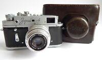 CAMERA Rangefinder Zorki 4 Russian Lens Industar 50 M39 Kmz Soviet Vintage USSR!