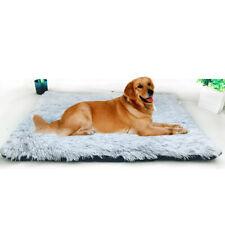 Pet Dog Bed Soft Plush Cat Foldable Cushion Warm Mat Washable Sleep Cozy