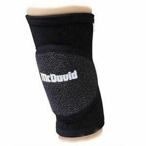 McDavid Standard Handball Knee Pad 671R Black Sizes XS, S, M & 2XL