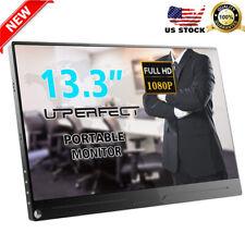 UPERFECT 13.3 inch Type C Mini Screen Display Portable Monitor 1080p 1920x1080