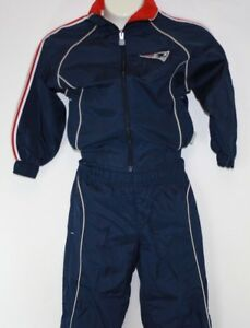 NEW Infant Toddler REEBOK New England Patriots 2 Piece Jacket & Pants Sweatsuit