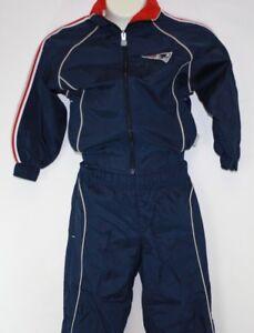 Infant Toddler Reebok New England Patriots NFL 2 Piece Jacket & Pants Sweatsuit