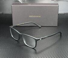 DOLCE & GABBANA DG5027 2525 Matte Black Demo Lens 55 mm Men's Eyeglasses