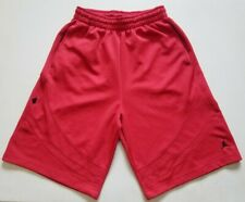 "NIKE JORDAN JUMPMAN Basketball Shorts Red  Pockets Mens Medium 23"" 341947-649"