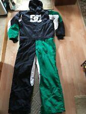 Men's DC Block One-Piece Snowboard or Ski snowmobile winter bib pants. Men's XXL