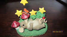 Charming Tails Mouse Butterfly Wish Upon a Star Limited Ed Ladybug Figurine