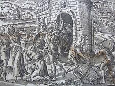 Jean Cousin: Rare Bible Print Joseph in Egypt Folio - 1641