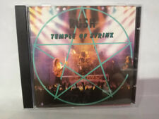 CD RUSH TEMPLE OF SIRYINX - PAPILLON CD 011 LIVE '89 TOURS RARE