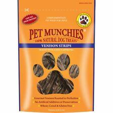 PET MUNCHIES 100% VENISON & BEEF LIVER DOG TRAINING TREATS 75 Gm x 8 Pack