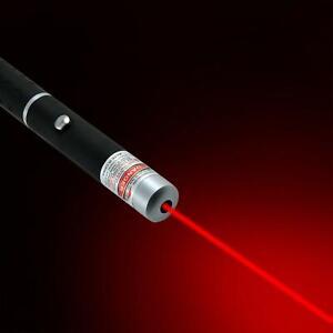 Red Beam Laser Pointer Pen Powerful 1MW Ultra Bright Lazer Light Cat Pet Toy