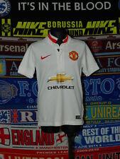 5/5 Manchester United boys 8/10 years MINT football shirt jersey trikot soccer