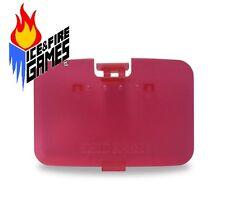 New WATERMELON RED N64 Memory Expansion Pak Cover - Jumper Pak Lid (Nintendo 64)