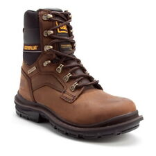 Cat Caterpillar Men's Generator 8 Inch Waterproof Steel Toe Work Boot
