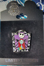 DISNEY NIGHTMARE BEFORE CHRISTMAS MOSAIC FRAME SERIES SALLY JACK SKELLINGTON PIN