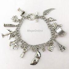 2017 50 Fifty Shades of Grey Darker Charm Bracelet Bangle Wristband Virgin Alloy