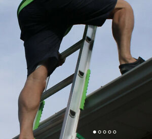 Ladder Frog, use your ladder safely and eliminate slippage