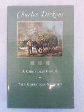 1994 Charles Dickens 2 Book Set Sleeve Christmas Carol & Stories Barnes Nobl