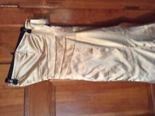 New Jessica McClintock for Gunne Sax gold Cictail maxi dress 3 NW