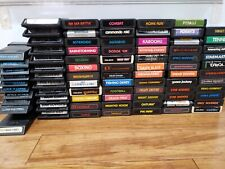 Atari 2600 7800 Game Lot Clean Tested Label Variations Pick Your Favs Combo S&H