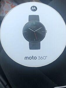 Motorola Moto 360 1nd Gen. Classic Black Leather
