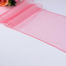 Organza Table Runner Chair Sash Bow + Stain Wedding Party Decoration 30 x 275 cm