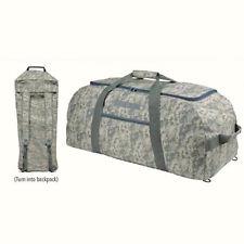 XLarge Big Duffle Duffel Bag Backpack Rucksack Military Digital Camo Camouflage