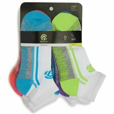 C9 CHAMPION Big Girl's Ankle Socks Pairs Assorted Multi Color Soft 6 Pack